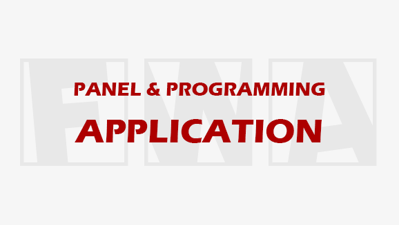 Now Accepting Panel & Programming Applications